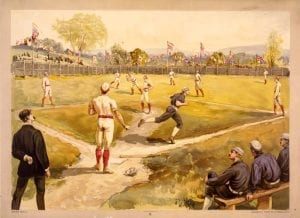 History of Baseball Game