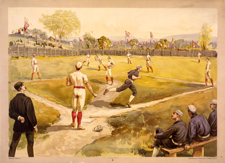 History of Baseball Game