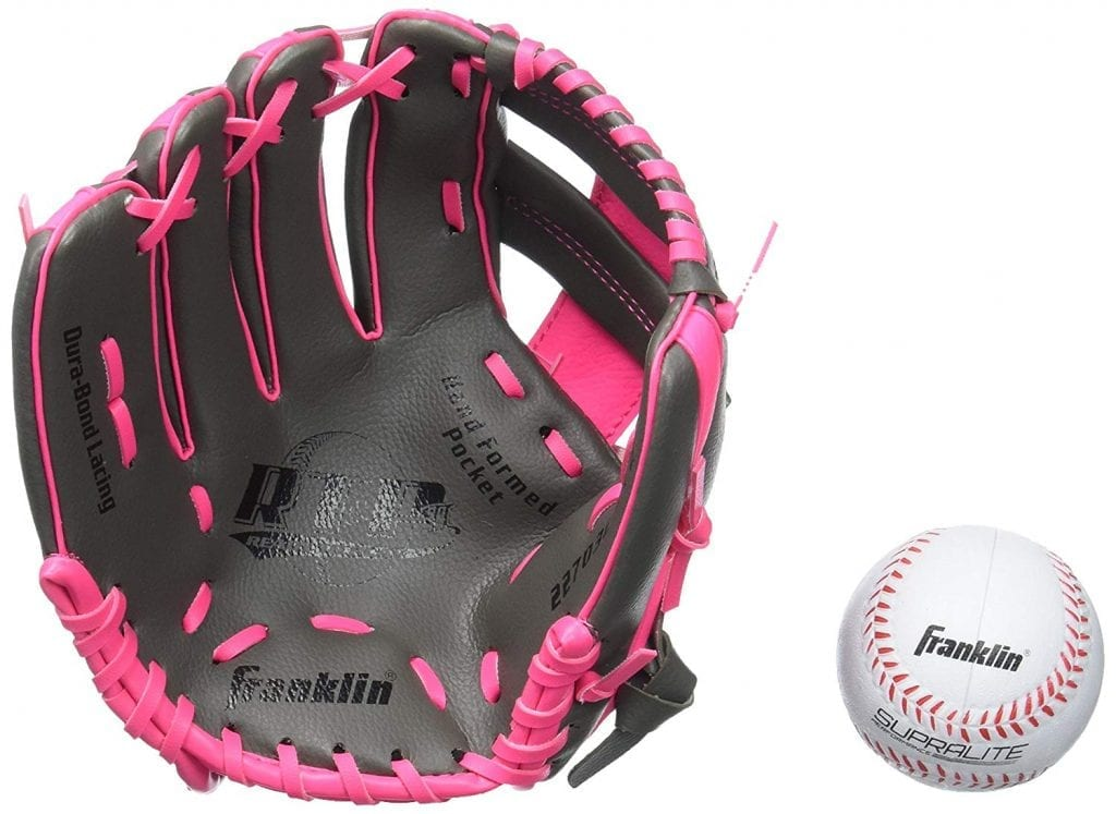 Franklin Leather best Baseball Glove for 4 to 5 year old