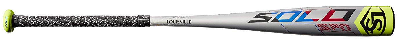 "Louisville Slugger 2019 Solo SPD (-13) 2 1/2"" Bat - 9 Years"