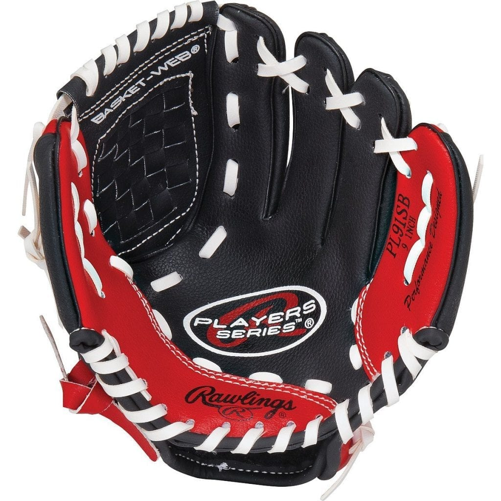 Rawlings Boys 9-INCH TEE Ball Glove for Kids