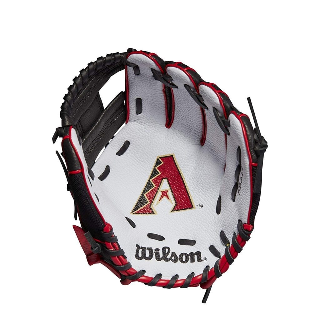 "Wilson 10"" MLB A200 Tee Ball Glove for all Positions in"