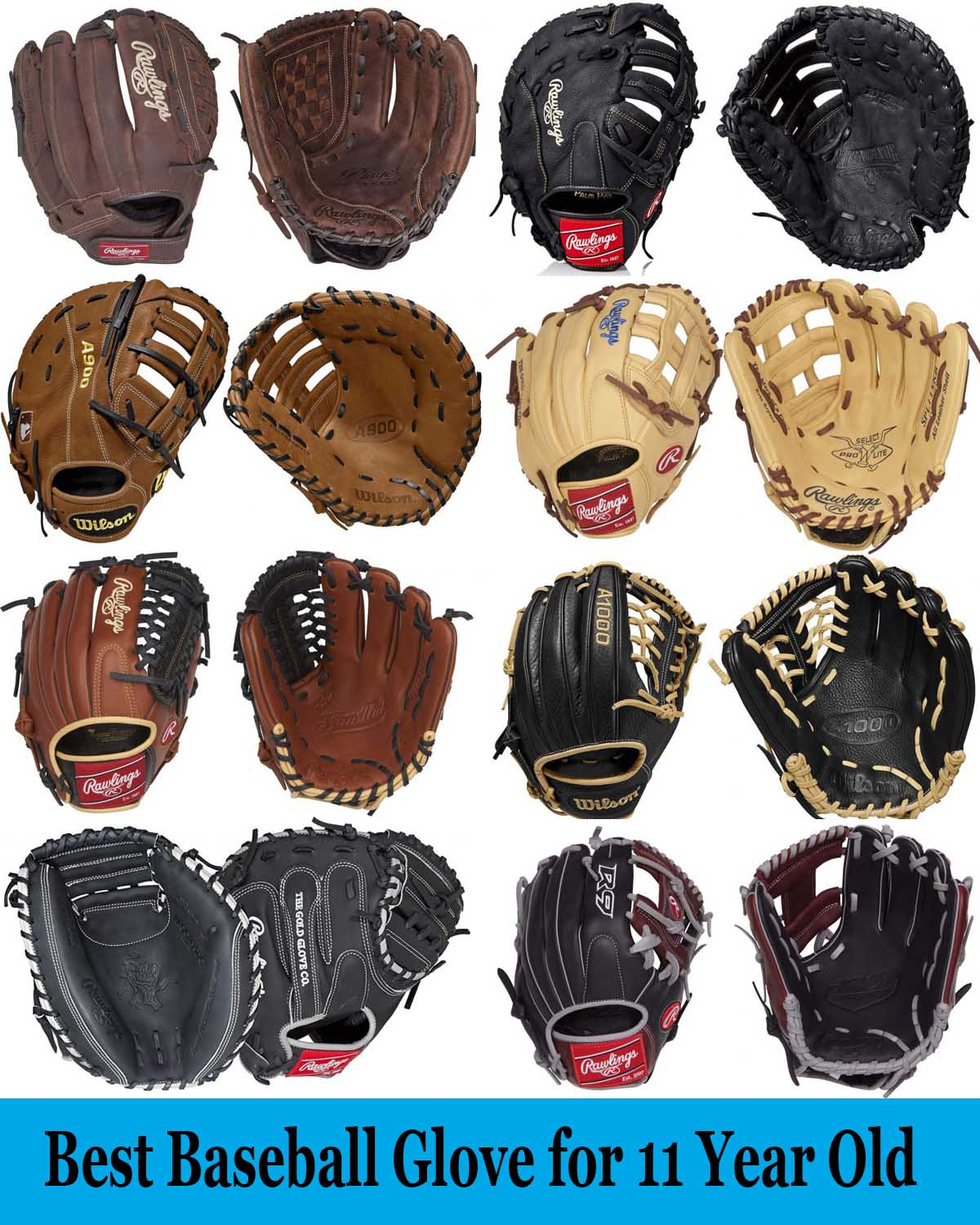 Best Baseball Glove for 11 Year Old