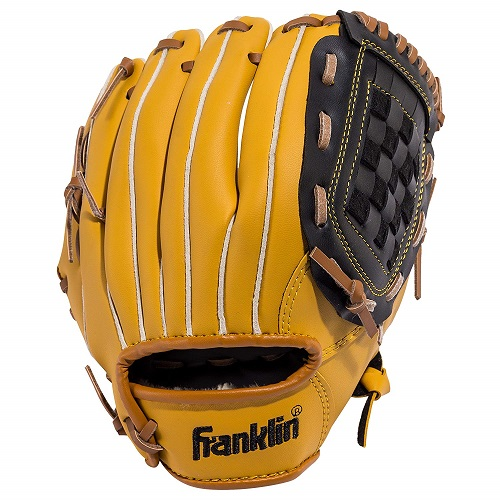 1:6th Scale Real Leather Baseball Glove #1