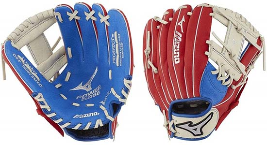 Mizuno Prospect PowerClose Youth Baseball Glove