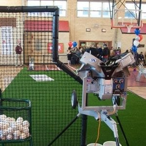 Multiple Wheel Pitching Machines for baseball