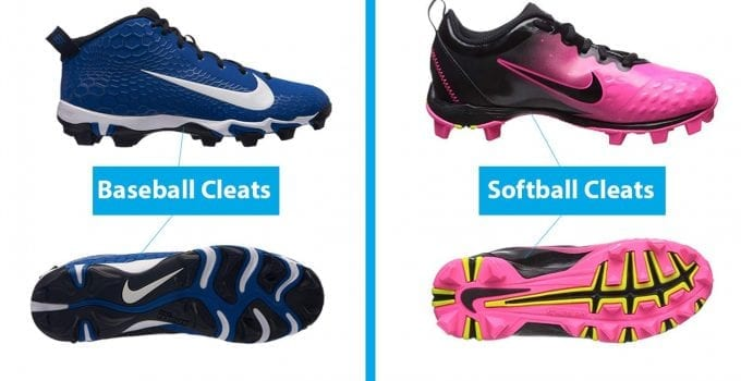 Are Baseball and Softball Cleats The Same?