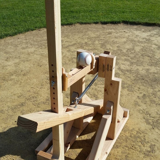 Homemade Baseball Pitching Machine