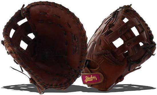 SHOELESS Joe Women's Fastpitch Softball First Base Glove