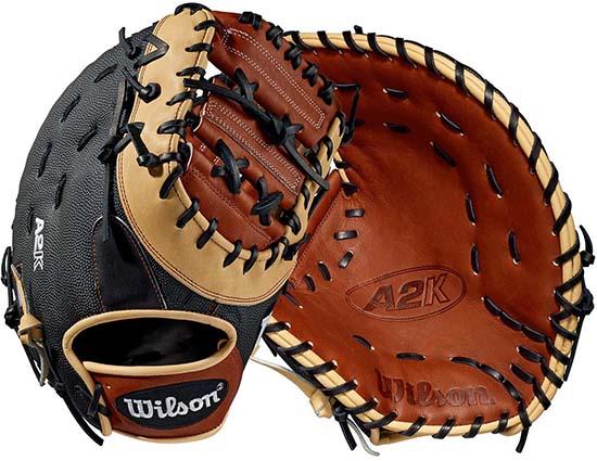 First Baseman glove for 10 Years old - Wilson A2K Baseball Glove