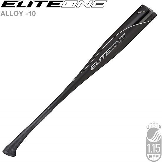 "Axe Bat 2020 Elite One Junior Big Barrel (-10, 2 3/4"") USSSA Baseball Bat / 1-Piece Alloy"