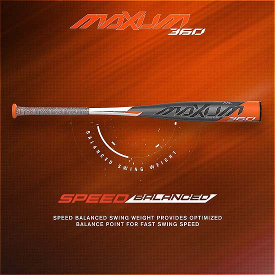 New Drop 3 Baseball Bat - (EASTON MAXUM 360 -3 BBCOR)