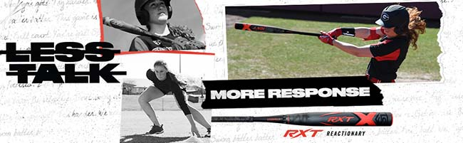 RXT X20 12u Fastpitch softball bat
