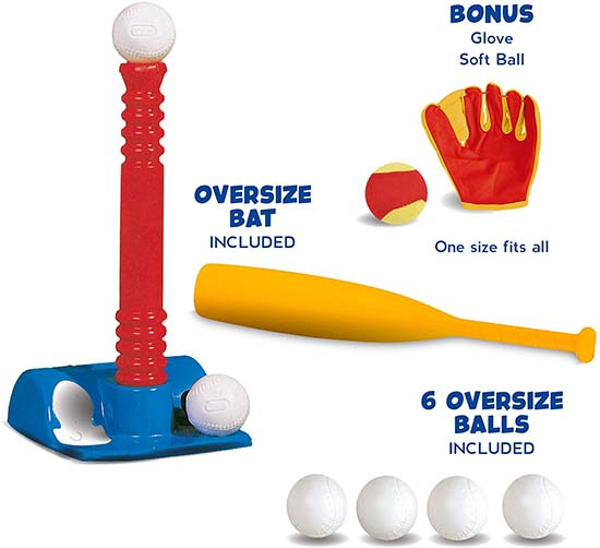 Tee-Ball Sport Set for 3-4 year old