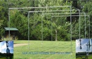 Batting Cage Frame Kit EZ UP & Down