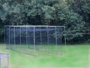 Jones Sports 70' 60PLY Heavy Duty #42 HDPE Batting CAGE with Frame KIT