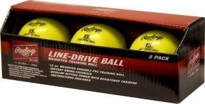 Rawlings LDBALL3PK Line-Drive Training Ball
