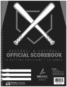 BSN Baseball Scorebook