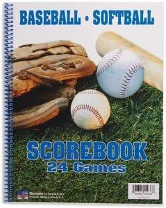 BSN BaseballSoftball Scorebook (Oversized)