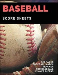 Bob Carpenter's Score Sheet baseball scorebook