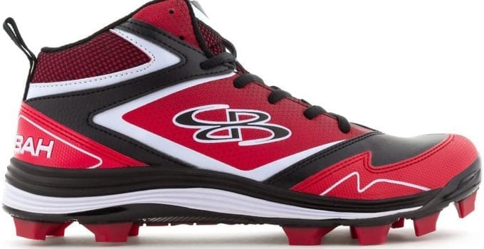 Boombah Women's A-Game Molded Mid Softball Cleats