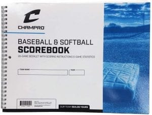CHAMPRO Baseball Scorebook