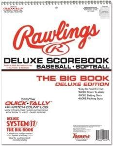 Rawlings Deluxe System-17 Scorebook