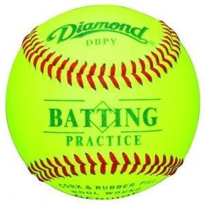 Diamond DBPY Batting Practice Baseballs