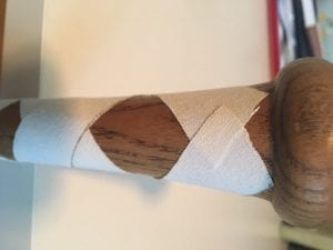 How to Tape a Baseball Bat and Improve Your Confidence in Your Swing 002
