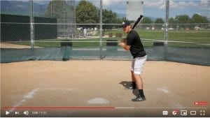 perfect batting stance