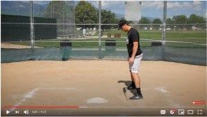 square batting stance
