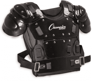 champion sports chest protector for softball